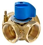 Смесительный ручной четырехходовой клапан